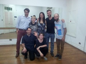 cours de tango pour Martina et Farid