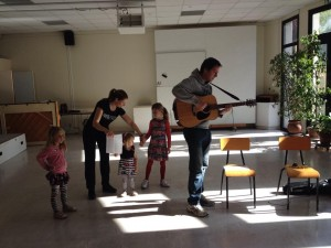 Innovofrance : stage danse et mime 2015/ Dan Rachel et leurs enfants