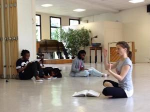 Innovofrance /stage danse / le professeur de danse Mel Cossette